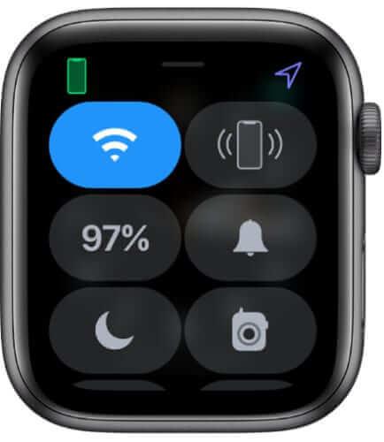 綠色的iPhone圖標顯示連線