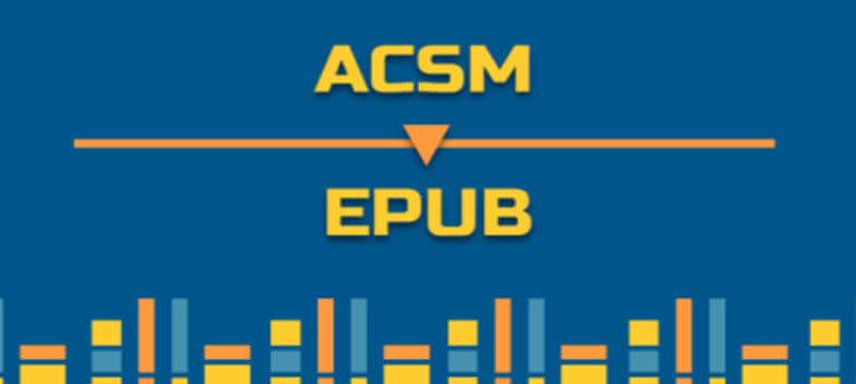 將ACSM轉換為ePub