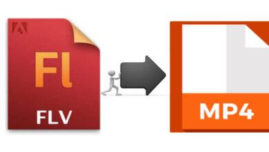 將FLV轉換MP4