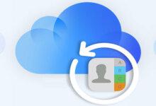 從iCloud恢復聯絡人的簡單方法